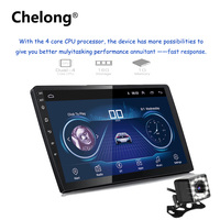 9/10 inch 2 din android car radio Android 8.1 universal Car Radio DVD Player GPS NAVIGATION WIFI Bluetooth MP5 Player Rear CAM