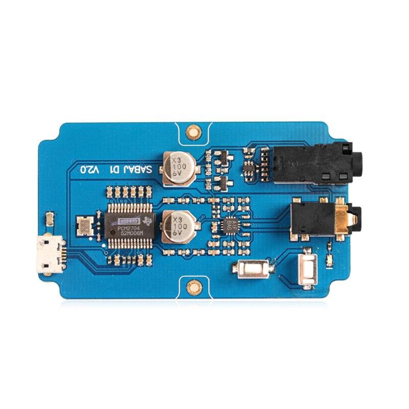 sabaj  Sabaj D1 Audio Portable Amplifier Decoder All in one with Mini Audio ...