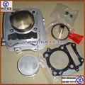 Envío de la alta precisión y buena calidad para SUZUKI DR200 QINGQI motocicleta color blanco kit de cilindro