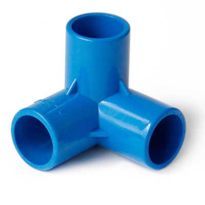 20mm Binnendiameter 3 Way PVC Buis Gezamenlijke Pijp Koppeling Adapter Water Connector Voor Tuin Irrigatie Systeem