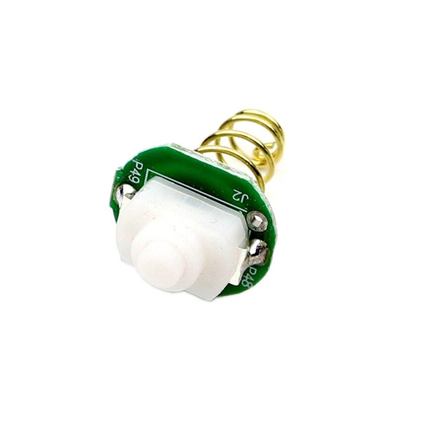 17mm Zaklamp Staart Schakelaar Knop Reverse Klik Clicky Schakelaar Voor Wf-501b Wf-502b Wf-501a 501d 502d Torch Led Verlichting Lamp