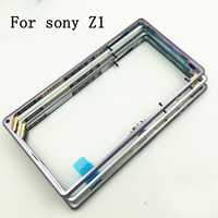 HEHAN For Sony Xperia Z1 L39H C6903 Replacement NEW Middle Frame Bracket Panel Metal Chassis Bezel