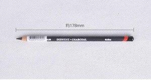 Image 4 - Derwent Soluble Charcoal Pencil  Light / Medium/ Dark  12Pcs/lot Professional Sketch drafting Drawing