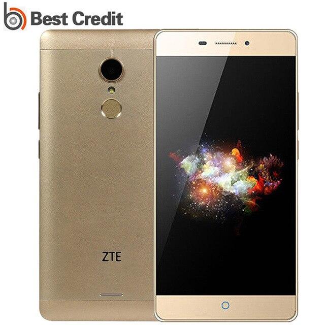 """Оригинальный ZTE V5 Pro N939SC смартфон 5.5 """"FHD Экран 2 ГБ 16 ГБ Snapdragon 615 Octa core 13MP отпечатков пальцев ID otg 4 г мобильного телефона"""