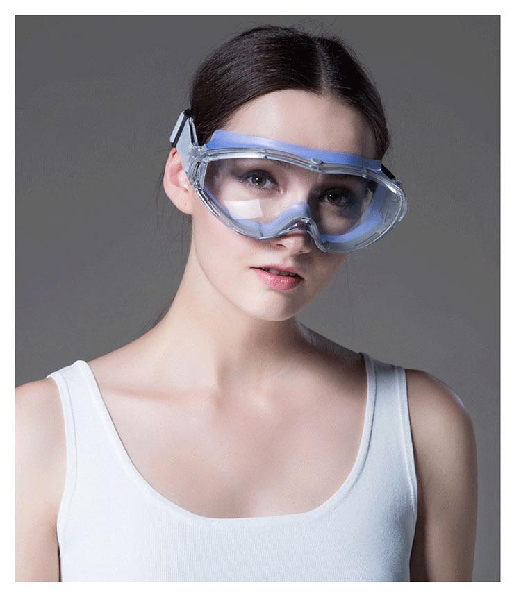 02f1ea99a90fc Transparente Óculos De Segurança À Prova de Vento   Tactical Óculos ...