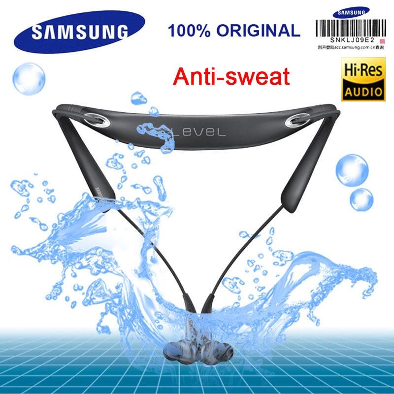 SAMSUNG D'origine Niveau U PRO Sans Fil Bluetooth casques Col Antibruit Soutien A2DP, HSP, HFP pour Glaxy 8 S8plus