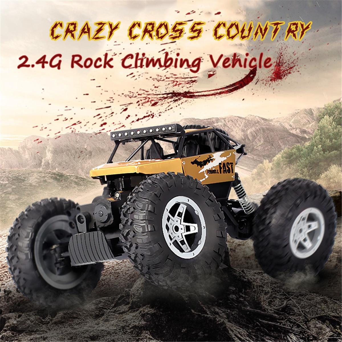 купить 2Colors RC Truck 4WD Off-Road 1:16 Vehicle 2.4 G Remote Control Buggy Crawler Car Supersonic Truck Off-Road Vehicle Buggy Elect по цене 1791.05 рублей