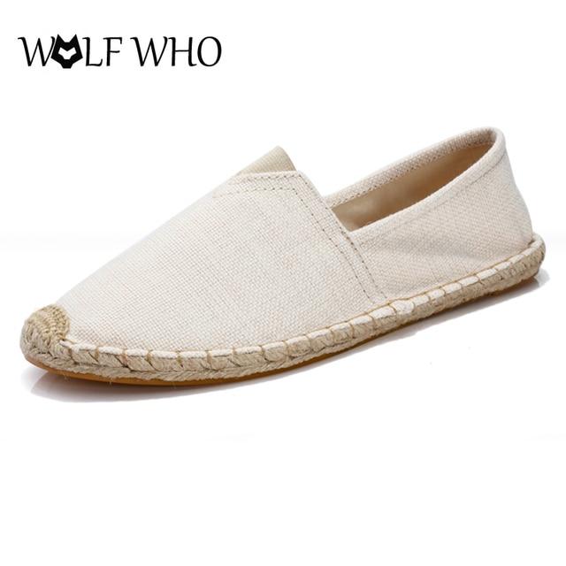 Verano Unisex Que Lobo Zapatos Hombres Tamaño Gran xq6O4wfAZ