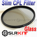 52 Circular Polarizing Slim Glass 52mm CPL Filter