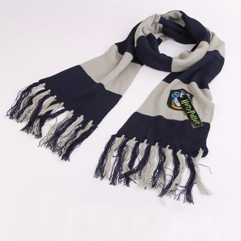 Nuevo estilo de ropa moda Harry Potter bufandas bufanda Ravenclaw ...