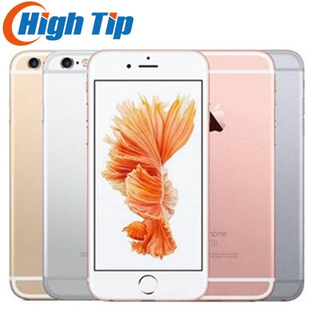 "Original Apple iphone 6S Unlocked  Smartphone 4.7"" IOS 16/64/128GB ROM 2GB RAM 12.0MP Dual Core A9 4G LTE USED Mobile Phone"