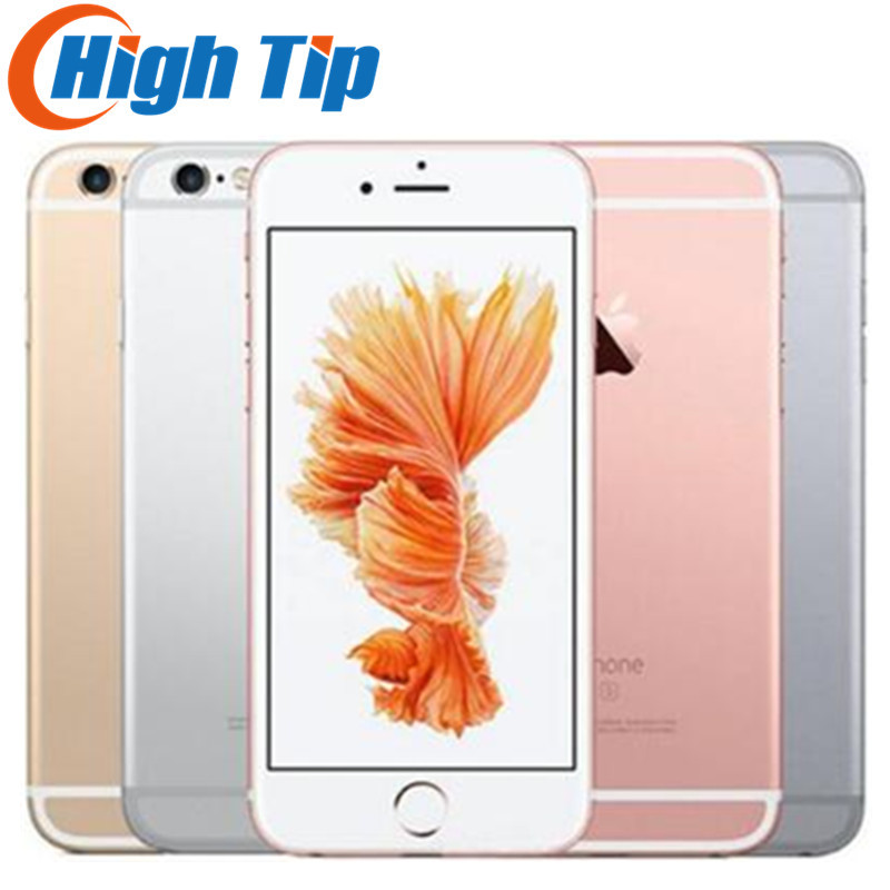 "Original Apple iphone 6S Unlocked Smartphone 4.7"" IOS 16/64/128GB ROM 2GB RAM 12.0MP Dual Core A9 4G LTE USED Mobile Phone"