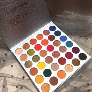 Beauté émaillée 36 couleurs vos nuances Palette de maquillage fard à paupières mat paillettes haute Pigments longue durée Palette ombre à paupières cosmétiques