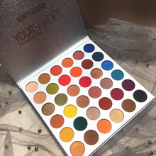 Beauty Glazed 36Color YOUR SHADES Eyeshadow Makeup Palette Matte Glitter High Pigments Longlasting Eye shadow Cosmetics