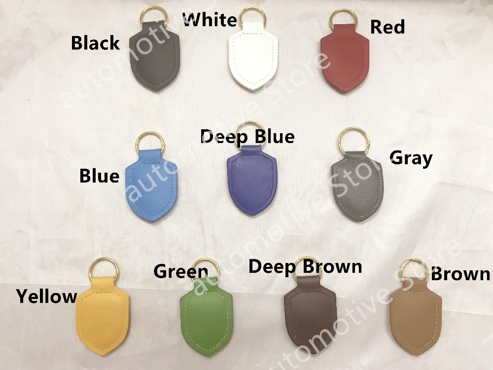 High Quality Many Different Colors key buckle keychains keychain key chain For Porsche boxster cayman 911 Panamera Cayenne high quality for porsche macan 911 panamera cayenne 2018 car aluminium alloy key holder cover case shell chain ring accessories