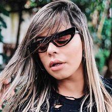 MIZHO estrecho marco plástico gradiente teñido pequeño Ojo de Gato de las  mujeres alta calidad UV400 rojo Hip Hop gafas de sol p. 8e71eac81fd3