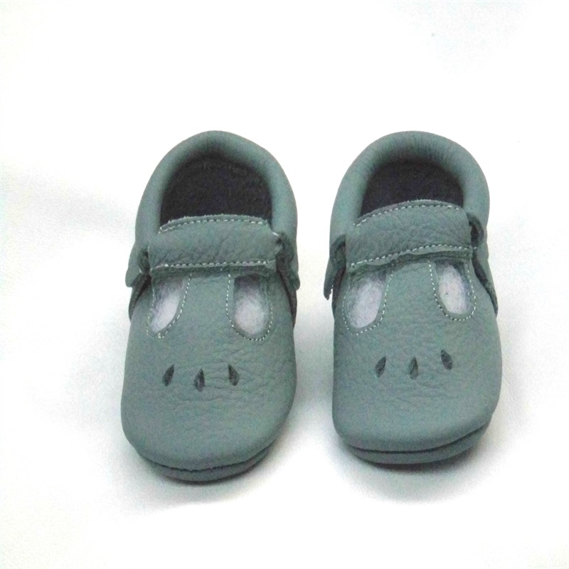 Newborn Baby Moccasin Babies Shoes Soft Bottom Genuine Leather Toddler Infant First Walkers Boy Sandals