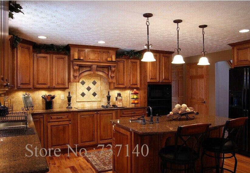 Cucina americana su misura in legno massello mobili da cucina una ...