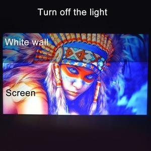 Image 3 - מקרן מסך 60 72 84 100 120 אינץ רעיוני בד הקרנת מסך עבור XGIMI H1 H2 JMGO UNIC UC40 UC46 YG300 Espon Beamer