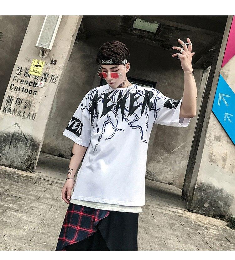 Graphic Tshirts Men Fashion Casual Short Sleeve   (2)