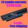 JIGU BLACK Battery for Acer Aspire one 532h AO532G UM09G31 UM09H31 UM09H36 UM09H41 UM09H71