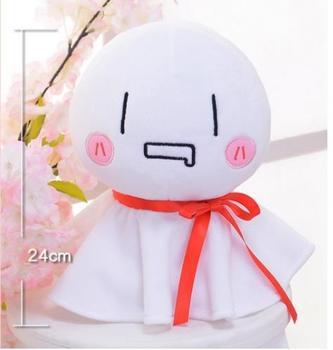 Mafumafu Sunny Doll Teruterubozu 24 cm biały Cosplay maskotki zabawki Anime nadziewane i pluszowe lalki tanie i dobre opinie Kostiumy Dla dorosłych others