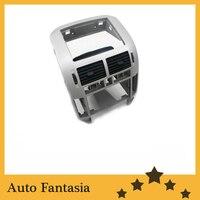 Центральной консоли с вентиляционными отверстиями (серебро) для Volkswagen Мужские Поло 9N3 Бесплатная доставка