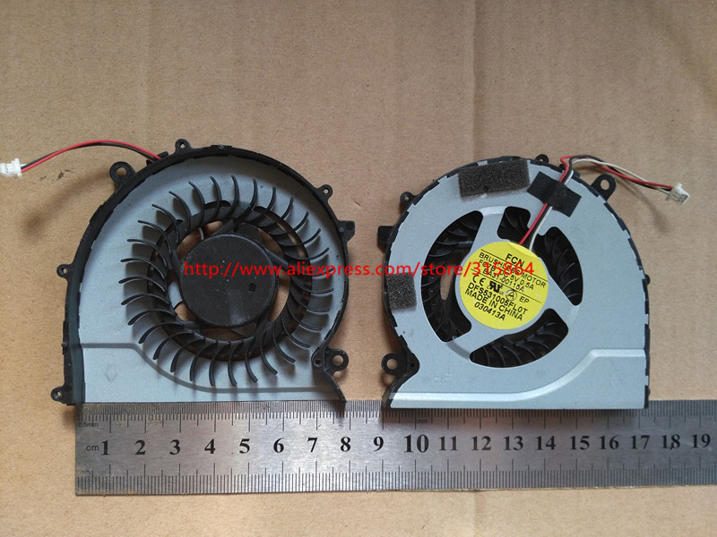 New laptop cpu cooling fan for samsung 370R4E 370R5E 450R4V 450R5V 510R5E 450R5U 455R4J BA31-00115A DFS531005FL0T