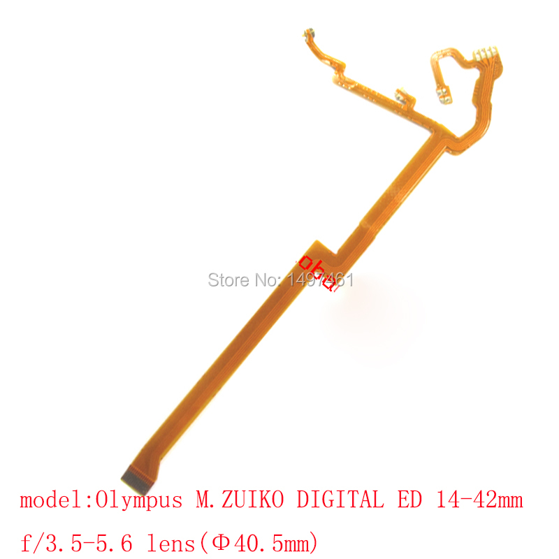 2pcs focus and anti-shake Reduction control Flex Cable for Nikon Olympus M.ZUIKO DIGITAL ED 14-42mm f/3.5-5.6 lens(40.5mm)