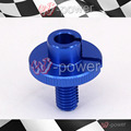 Fite para mt 07 fz-07 mt01 yamaha mt03 mt-07 mt-01 mt-03 disco azul fio cabo de embreagem da motocicleta cnc billet m10x1.5