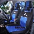 Cubierta de asiento de coche Universal para Mitsubishi ASX Lancer SPORT EX Zinger FORTIS evo Outlander Grandis coche accesorios del coche