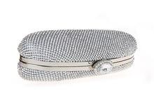 Mode Luxus Diamant Silber Abendtaschen Gold Strass Kristall Clutch Geldbörse Glitter Handtaschen Bolsa Feminina SMYCWL-E0019