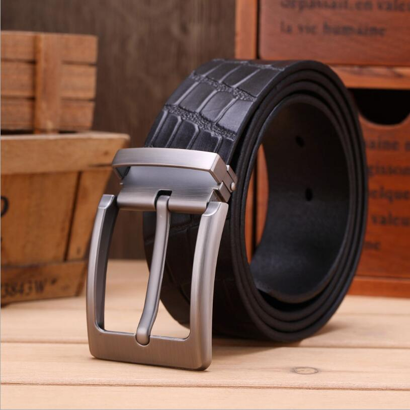 Men Genuine Leather Luxury Designer Belts Vintage Cowskin Belt For Jeans Stone Grain Cowboy Quality Assuarance XKS106