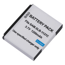 SLB-1137C Battery pack SLB 1137C SLB1137C lithium batteries For Samsung i7 Digital camera