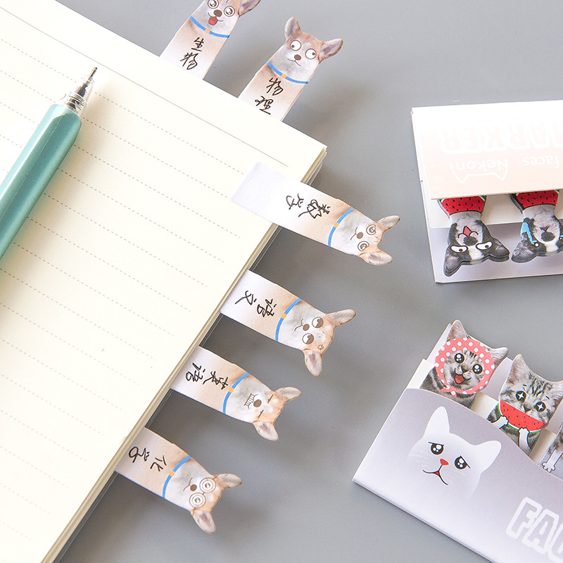 Cat Dog 3D Self-Adhesive Memo Pad Sticky Notes  My Pet World Store