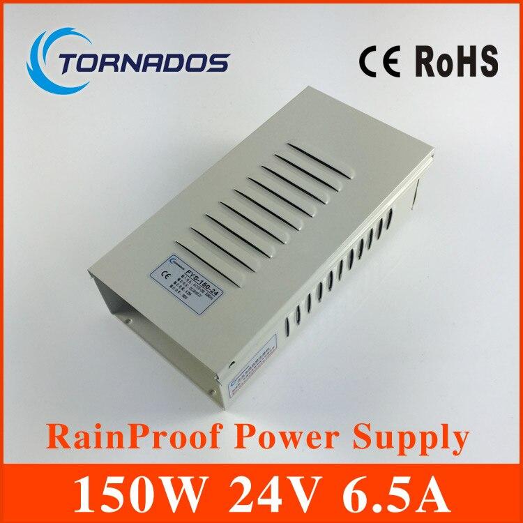 150W 6.3A 24V rainproof single output switching power supply FY-150-24 switching power supply 150w 24v