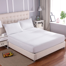 Grounded earthing Small Stripe Fitted sheet  standard Twin Full Queen King with pillow cases EFM Protection Antistatic bed