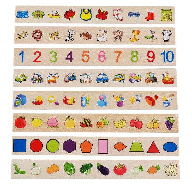 Brinquedo de conhecimento matemático, conhecimento matemático, classificação, cognição, montessori, brinquedo educacional de madeira, presentes para crianças 4