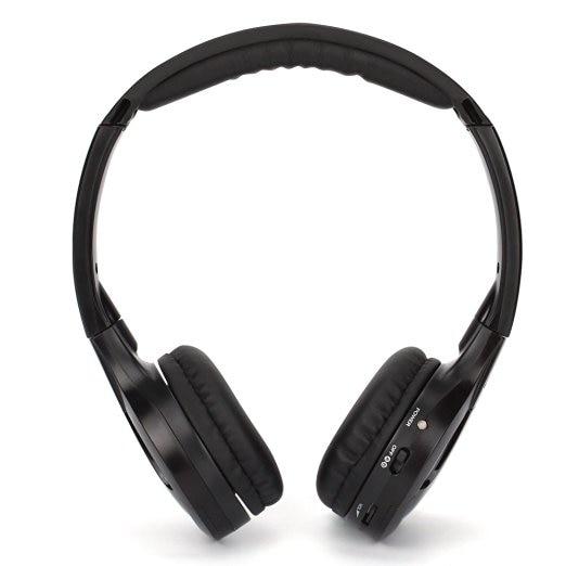 IR Infrared Wireless headphone Stereo Foldable Car Headset Earphone Indoor Outdoor Music Headphones TV headphone 2 headphones 19