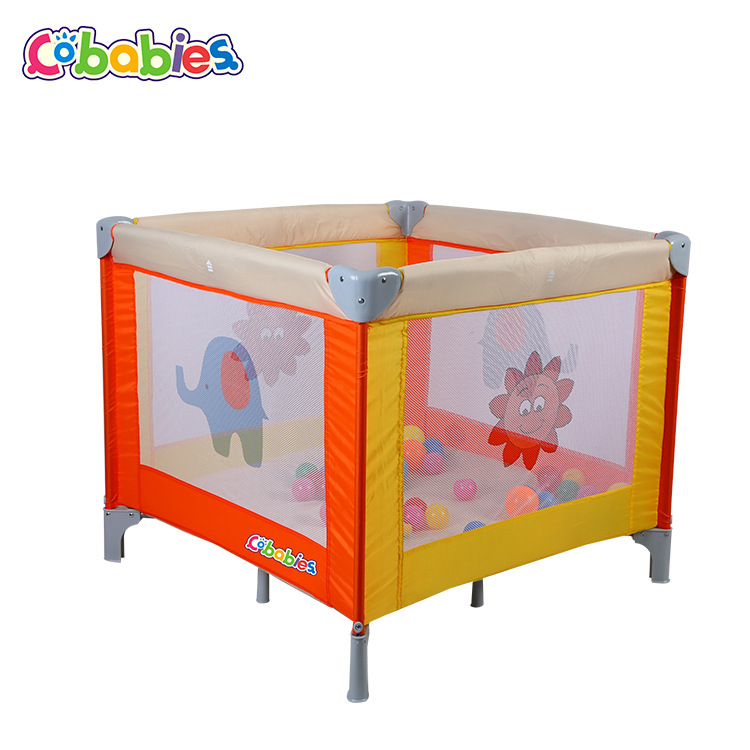 все цены на European Baby Game Bed Multifunctional Baby Bed Folding Portable Cartoon Bed For Children
