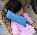 Coche de bebé almohada auto cinturón de seguridad arnés cubierta hombrera niños proteger el vehículo del cinturón de seguridad cojín almohada de apoyo