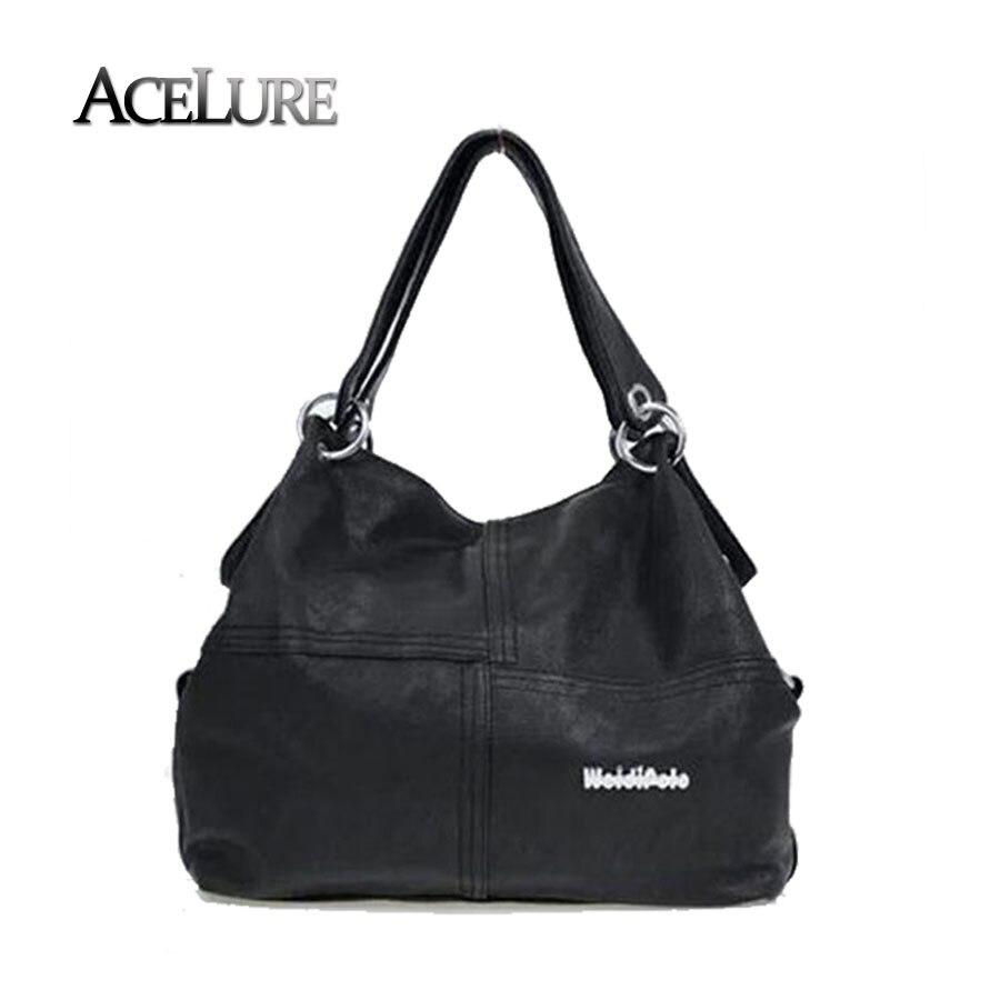 New 2017 Retro Vintage font b Women s b font Leather Handbag Tote Trendy font b