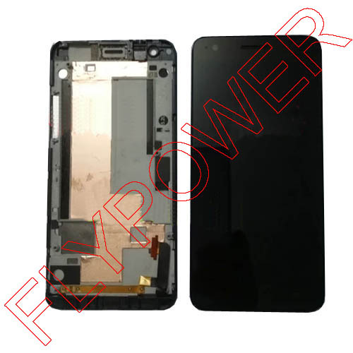 ФОТО For ZTE Grand S N988 lcd screen display+touch screen digitizer and frame assembly by free shipping; black