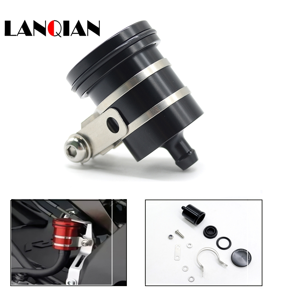 Universal Motorcycle Brake Fluid Reservoir Clutch Tank Oil Fluid Cup For YAMAHA R1 r1 R6 R25 R3 MT09 MT-09 2004 2005 2006 - 2016