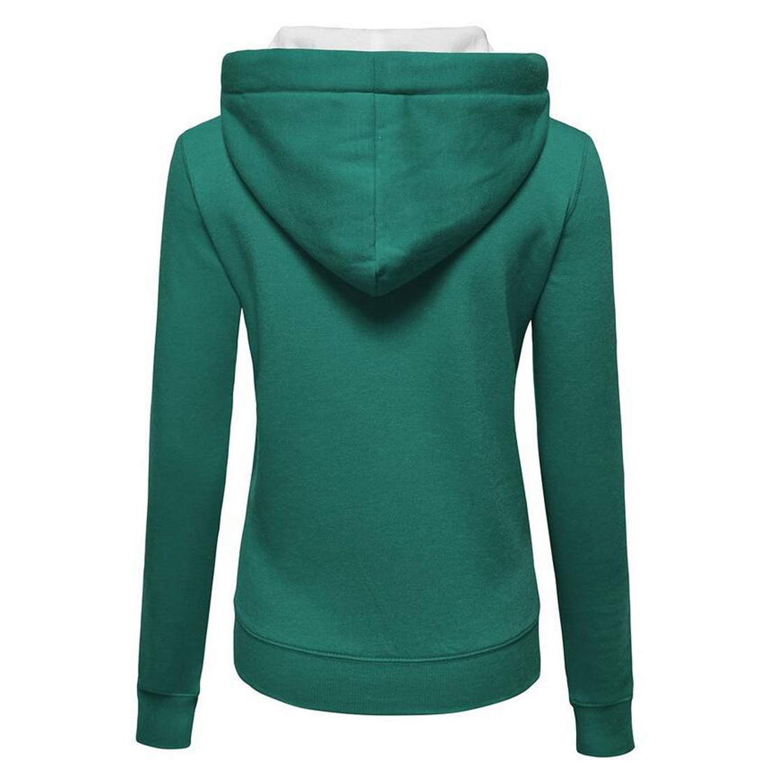 2017 Fashion Hoodies Dames Sweatshirt Casual lange mouw Hooded Hoodie - Dameskleding - Foto 5