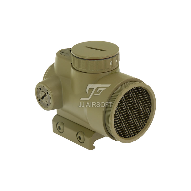 TARGET MRO Red Dot with Low Mount & Killflash / Kill Flash (Tan) AC32067 FREE SHIPPING(ePacket/Hongkong Post Air Mail)