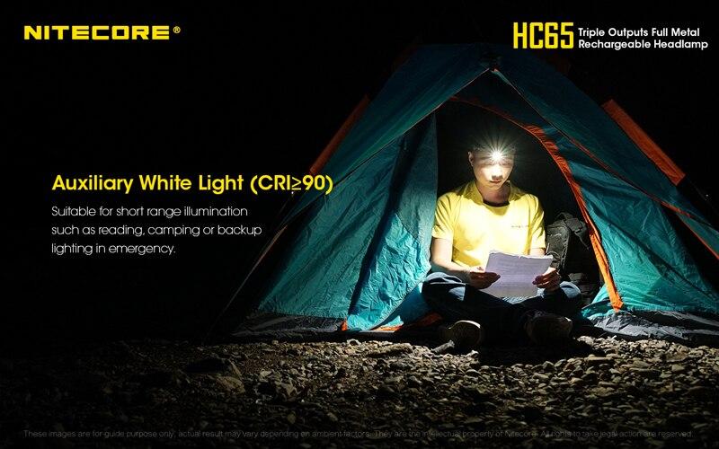 Nitecore HC65 1000 Lumens Rechargeable Headlamp (12)