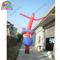 4m height inflatable air dancer costume for advertisement,one tube wacky waving inflatable tube man