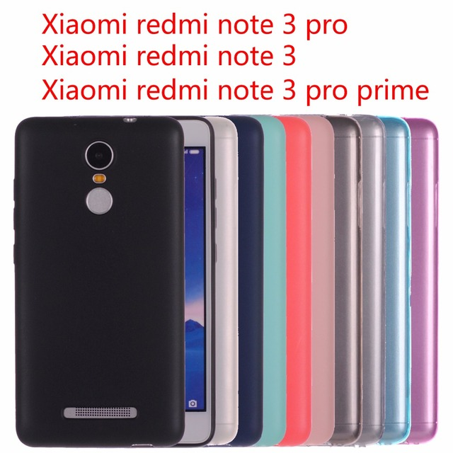 new products 8f201 c6ed4 US $1.69 30% OFF Xiaomi redmi note 3 pro case cover Silicone case for  xiaomi redmi note 3 pro prime Crystal and solid color Soft Matte-in Fitted  Cases ...