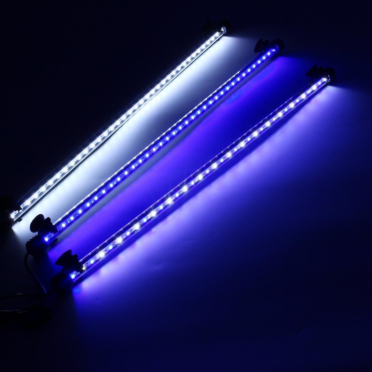 Barra de Luz Azul Branco Submersível Underwater